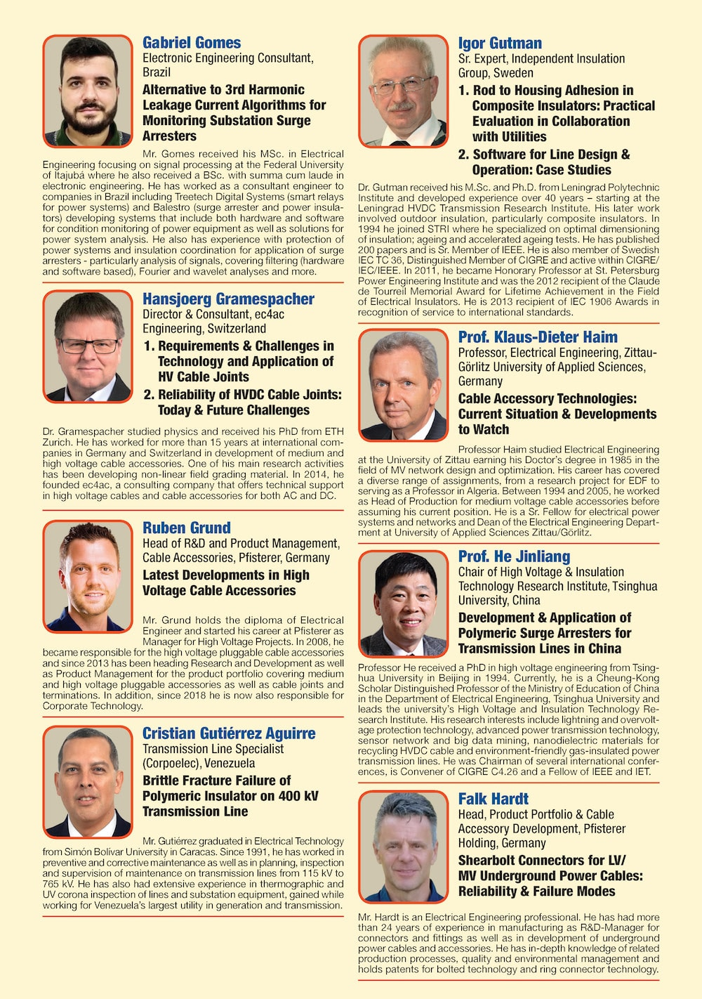 General Information for Exhibitor's Catalogue Congress Speakers Feb 13th Hi Res Page 04