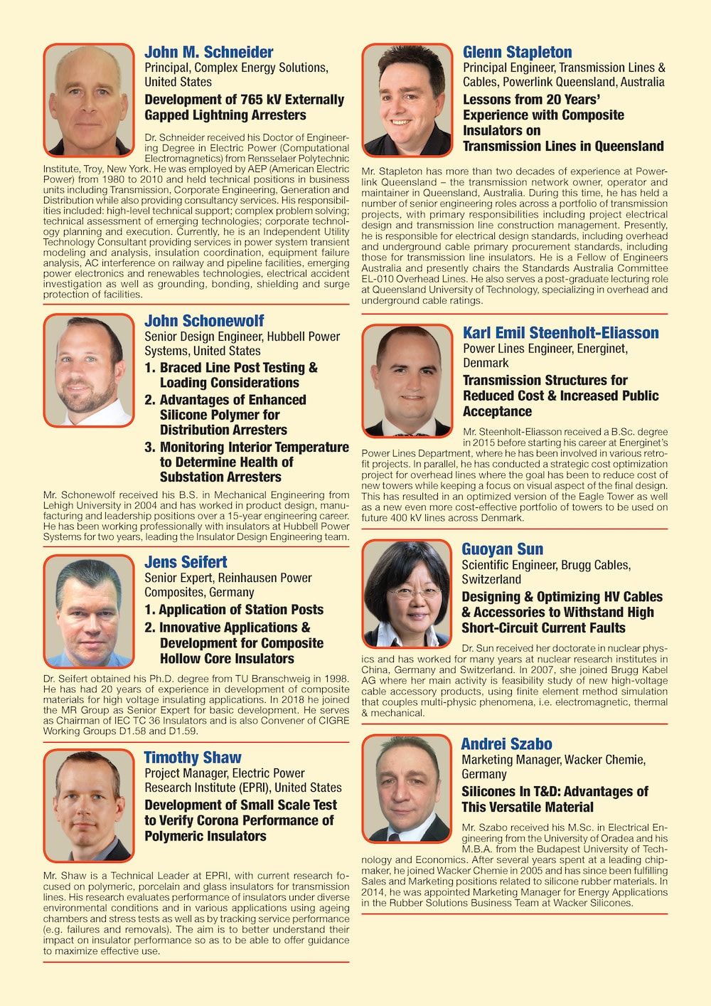 General Information for Exhibitor's Catalogue Congress Speakers Feb 13th Hi Res Page 09