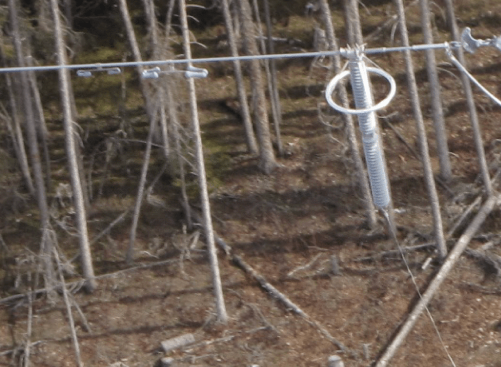 Detail of placement of TLSA and vibration damper.  [object object] Best Practice When Installing TLSAs Detail of placement of TLSA and vibration damper