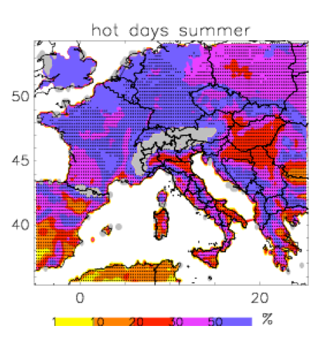 impact of climate change on power systems & electrical insulation: experience in italy Impact of Climate Change on Power Systems & Electrical Insulation: Experience in Italy Likely changes in hot days during summer projected for 2021 2050