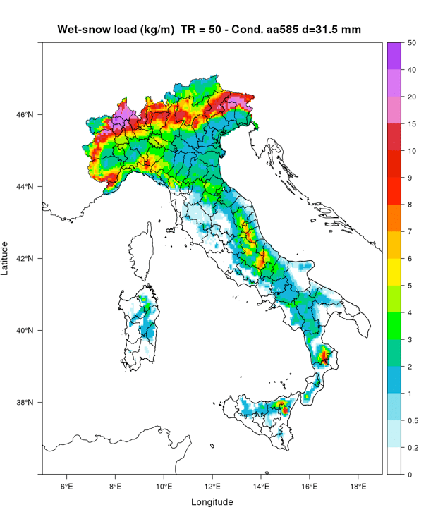 impact of climate change on power systems & electrical insulation: experience in italy Impact of Climate Change on Power Systems & Electrical Insulation: Experience in Italy Re analysis of wet snow events over Italian territory