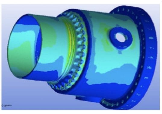 digital modeling Digital Modeling in Insulation System Design Evaluation of mechanical stress at flange of 800 kV DC wall bushing