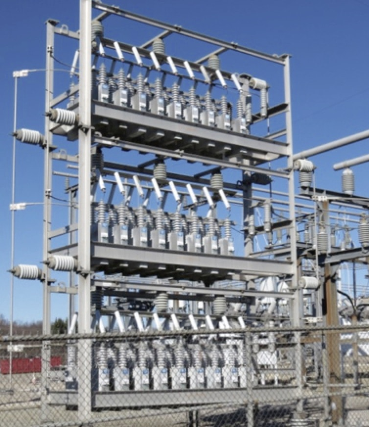 surge protection Surge Protection of Substations Substation shunt bank with arrester protection