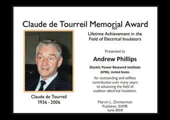 Andrew Phillips Receives 2019 Claude de Tourreil Memorial1 338x239   Andrew Phillips Receives 2019 Claude de Tourreil Memorial1 338x239