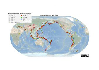 [object object] Development of Bushings for Seismic Conditions Global earthquake world map in the period 1900 2013 338x239 technical articles Homepage 2019 Global earthquake world map in the period 1900 2013 338x239