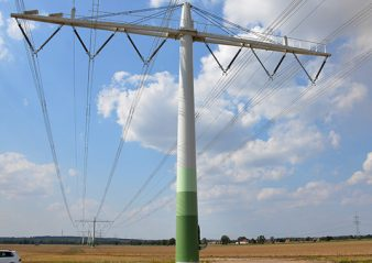 overhead line Implementing a Compact 400 kV Line Implementing a Compact 400 kV Line 338x239  Homepage 2019 Implementing a Compact 400 kV Line 338x239