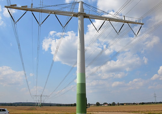 overhead line Implementing a Compact 400 kV Line Implementing a Compact 400 kV Line