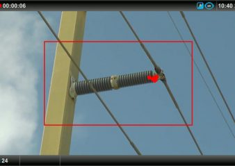 ceramic insulator with corona activity infrared inspection Infrared & UV Inspection of Overhead Transmission Lines: Experience in Florida, USA ceramic insulator with corona activity  338x239  Homepage 2019 ceramic insulator with corona activity  338x239