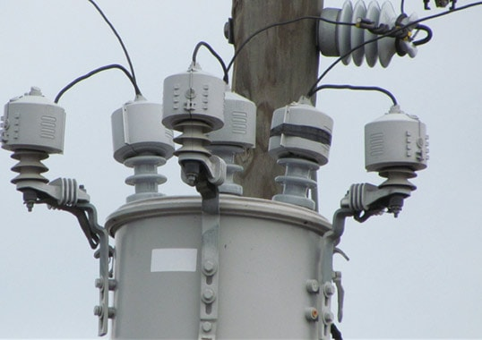 lightning protection Best Practice in Lightning Protection of Distribution Lines (Video) arresters 1