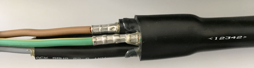 Cable Accessory Technologies & Developments to Watch Example of low voltage heat shrink straight joint