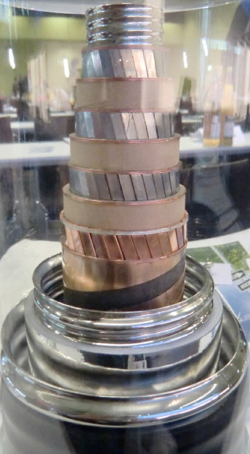 Cable Accessory Technologies & Developments to Watch Example of three core 10 kV 40 MVA HTS cable