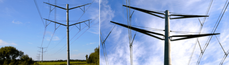 Evaluating Transmission Structures for Reduced Cost & Greater Public Acceptance Latest transmission towers erected in Denmark