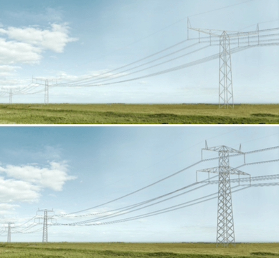 Evaluating Transmission Structures for Reduced Cost & Greater Public Acceptance Thor lattice tower above compared to Donau lattice tower