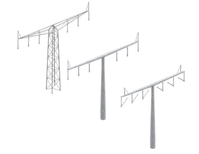 Evaluating Transmission Structures for Reduced Cost & Greater Public Acceptance Tower design solutions selected for further investigation