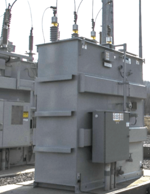 Surge Arrester Sizing for Sub-Transmission Systems Using Grounding Transformers 46 kV ungrounded sub transmission station