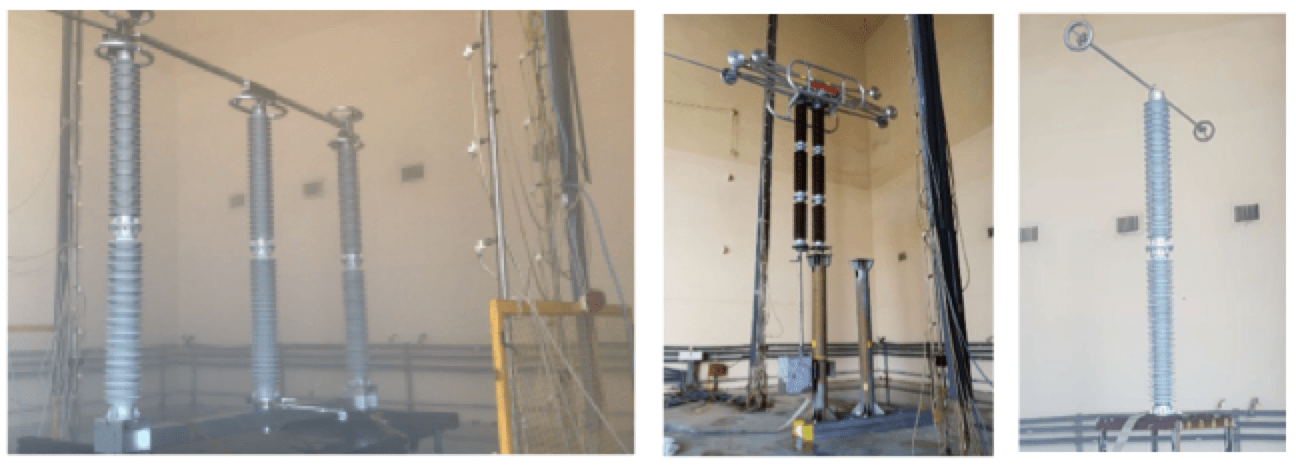 Selecting Post Insulators for Disconnectors & Other Substation Applications Salt fog test in Mexico at altitude