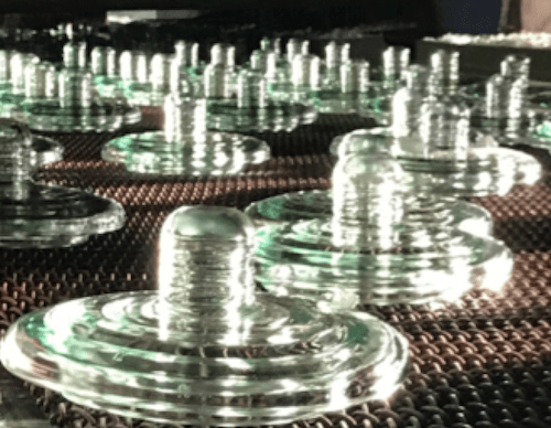 Manufacturing & Quality of Toughened Glass Insulators Thermal Cycle     heated up to 300 C