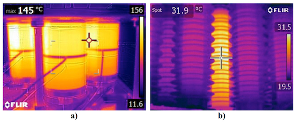 Metal-Oxide Arresters for HVDC Circuit Breakers Thermal image of MOSA after successive energy absorption