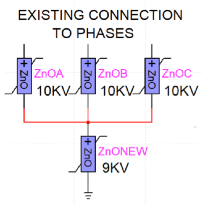 Surge Arrester Considerations in Microgrids Metal oxide surge arresters in parallel