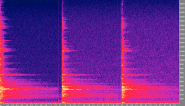 Adding Intelligence to Ceramic Insulators Spectrograms of three responses captured at different loads 0 50 and 95