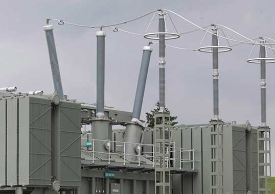 Synthetic Dry-Type Bushings Applied to HV Power Transformers (Video) Substation Design