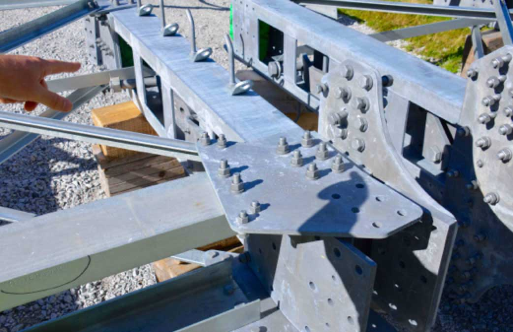 Network Expansion at Norwegian TSO (Part 1 of 2) Pre loaded bolts on 420 kV tower sections
