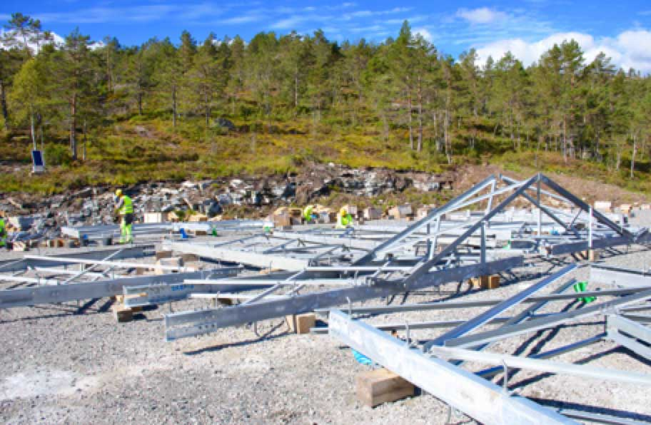Network Expansion at Norwegian TSO (Part 1 of 2) Procedures established to optimize assembly of each tower module