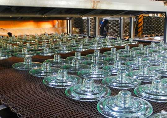 Manufacturing Quality of Toughened Glass Insulators (Video) glass insulators 1