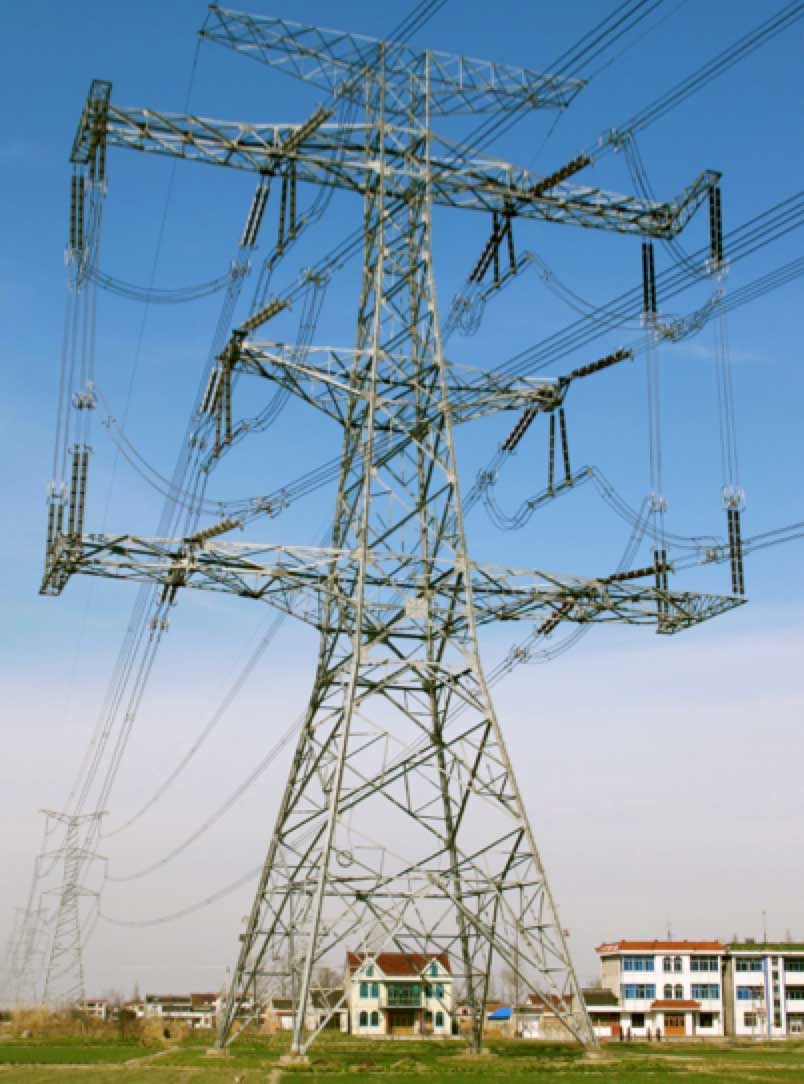 Implementing Compact Transmission Lines: Experience at Canadian Utility transmission structures such as this colossal 500 kV phase transposition tower