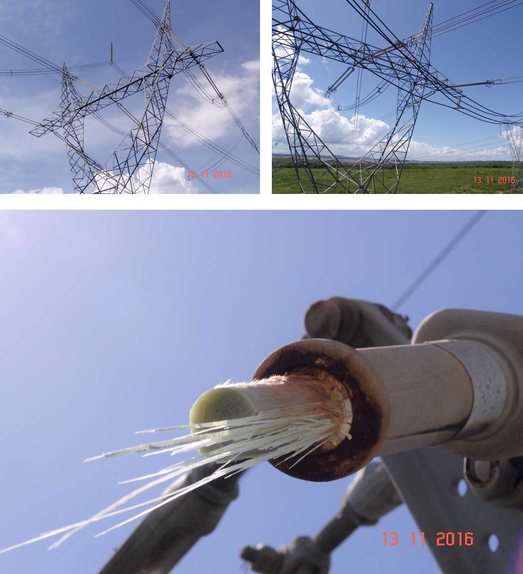Lessons & Questions from Brittle Fracture of 400 kV Composite Insulator Brittle Fracture of 400 kV Composite Insulator