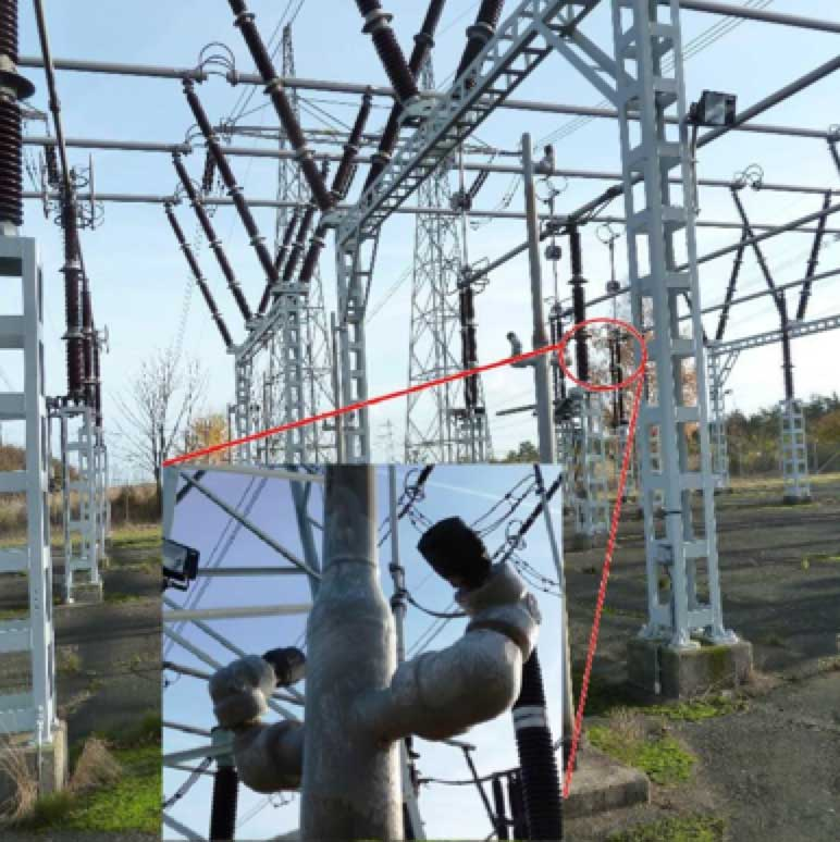 Selecting Optimal RTV Coatings When Refurbishing 400 kV Substations Under Coastal Pollution Piping and nozzles at Barseba  ck Substation