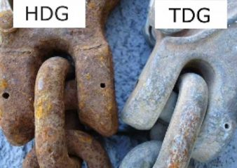 Thermally Diffused Galvanizing (Video) Thermally Diffused Galvanizing and Application to Insulators 338x239 technical articles Homepage 2019 Thermally Diffused Galvanizing and Application to Insulators 338x239