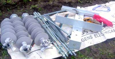 emergency repair on mv networks Emergency Repair on MV Networks: Experience in Portugal Broken concrete pole kit 1