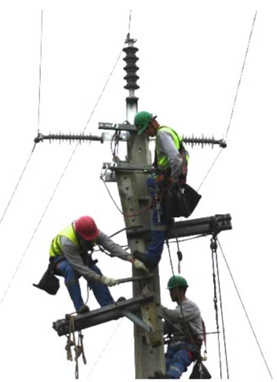 emergency repair on mv networks Emergency Repair on MV Networks: Experience in Portugal Solution to broken concrete poles 1
