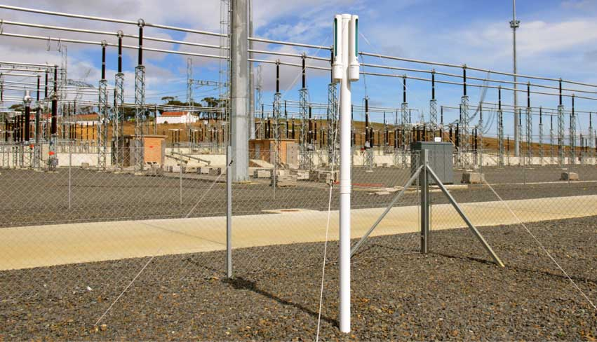 DDDG in substation in South Africa
