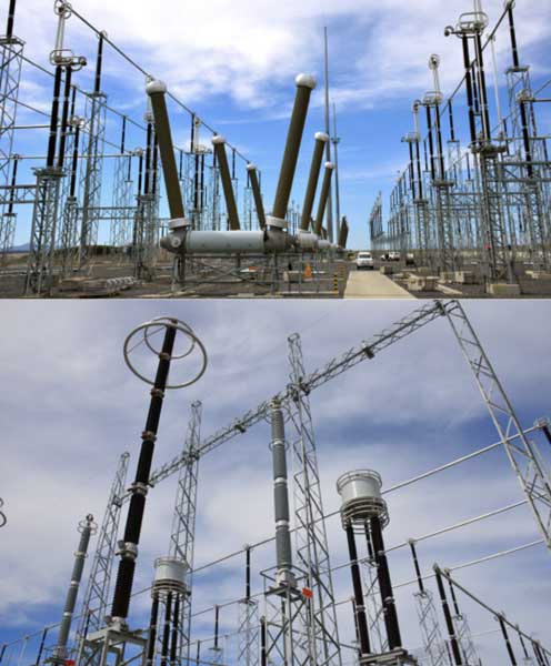 Substation in South Africa where DDDGs are used
