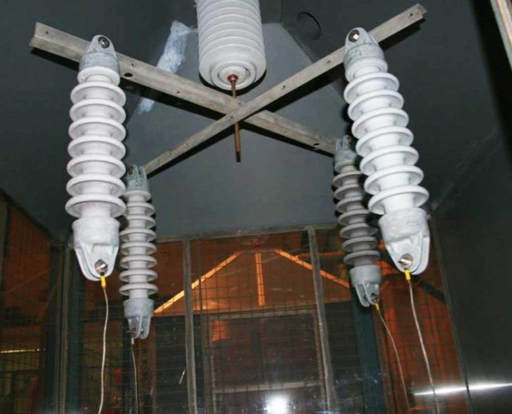 Silicone Coated Insulators