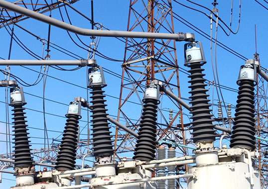 Coated Insulators in substation